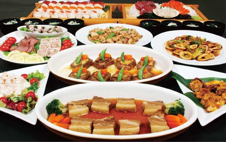 ホテルリソル函館の忘新年会プラン6000円コース料理