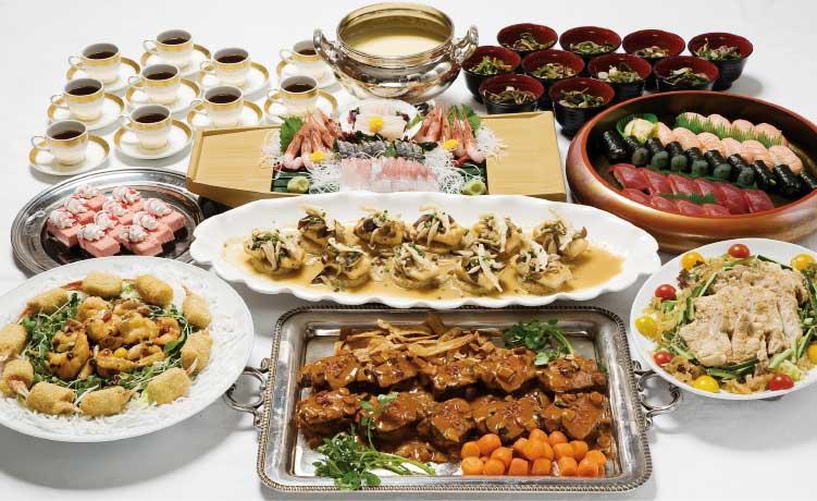 五島軒の忘・新年会6000円コース料理