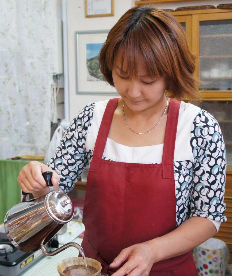 コミュニティカフェはなはなオーナー多田朋美さん