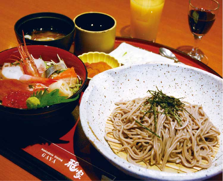 函館ダイニング雅家の海鮮丼