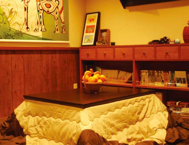 カフェ&バーリコリスこたつ個室