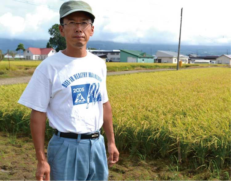 道南農業試験場で働く宗形さん