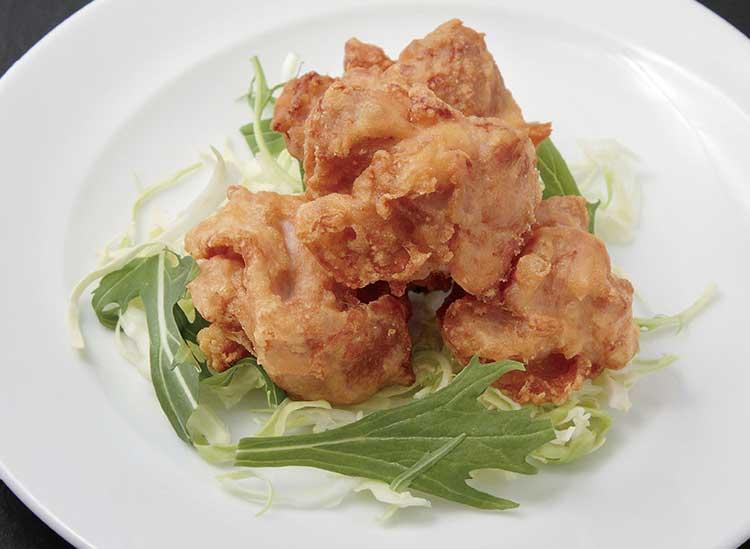 中国料理彩風塘の若鶏の米粉唐揚げ