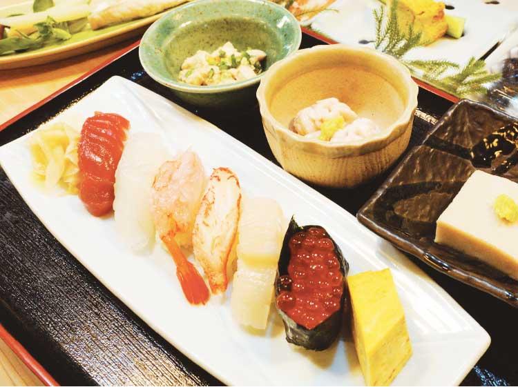 清寿司の寿司ランチ
