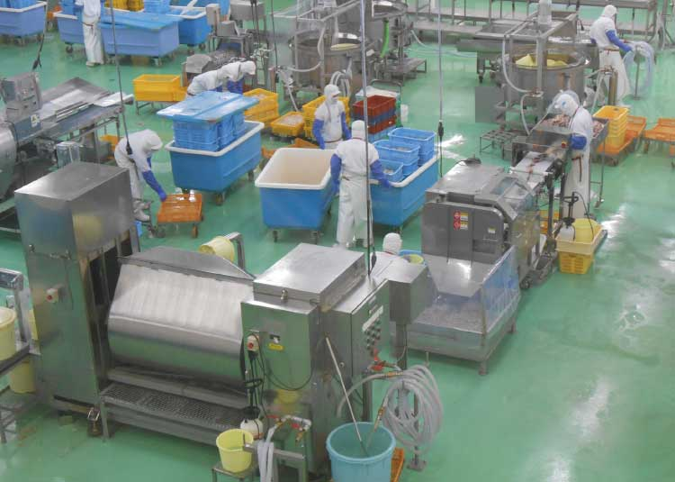 株式会社布目の工場