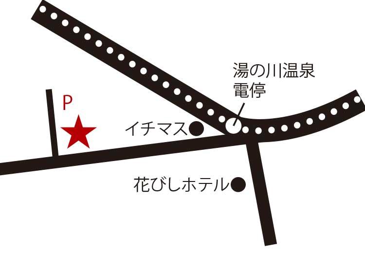 函館のmaido周辺地図