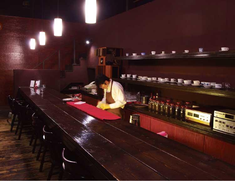 bar-del CLOE店内カウンター