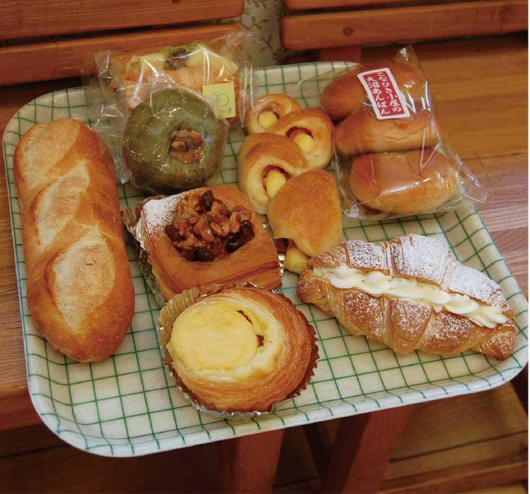 こなひき小屋のパン