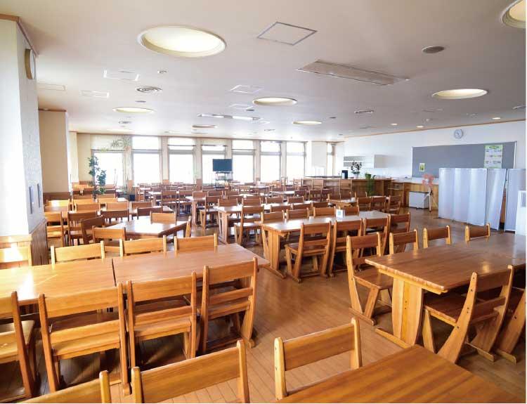 渡島総合振興局の食堂