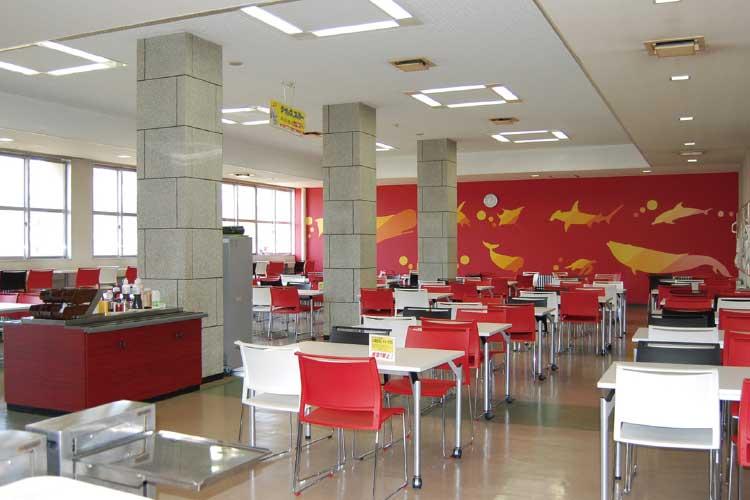 北海道大学生活協同組合の函館水産支部食堂