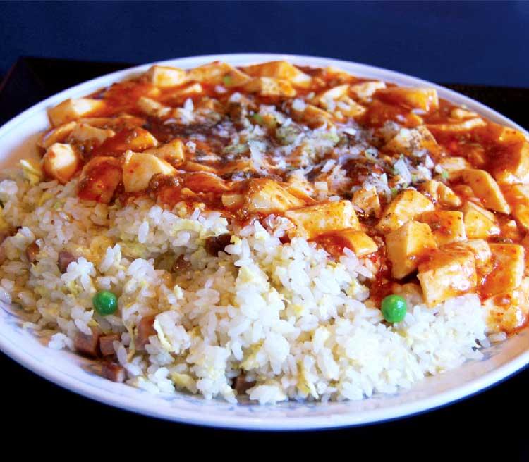 中国料理幸珍の麻婆炒飯