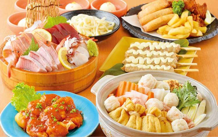 旬のめぐみ屋の選べる鍋コース