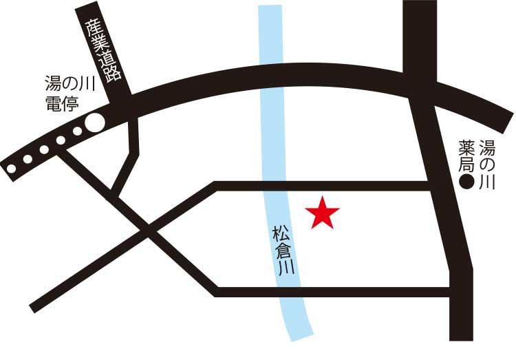 大黒屋旅館周辺地図