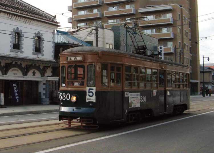 昭和25年製造の函館市電530号