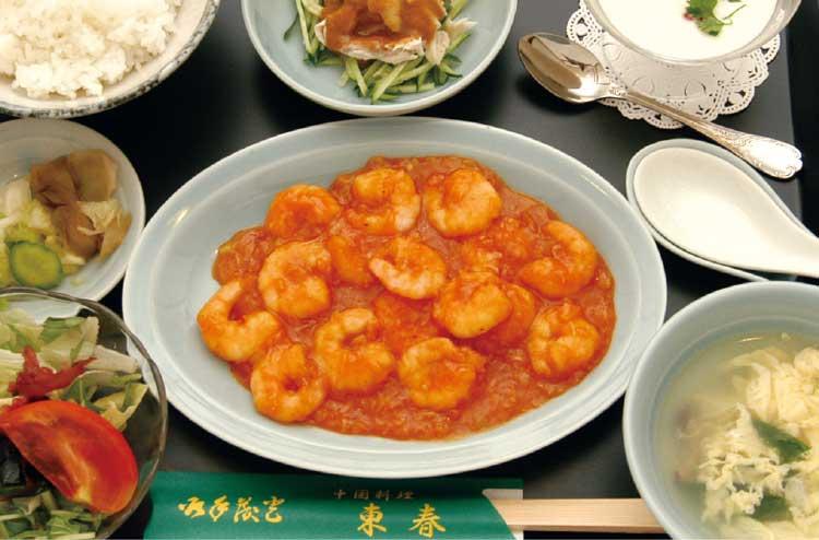 中国料理東春のA定食