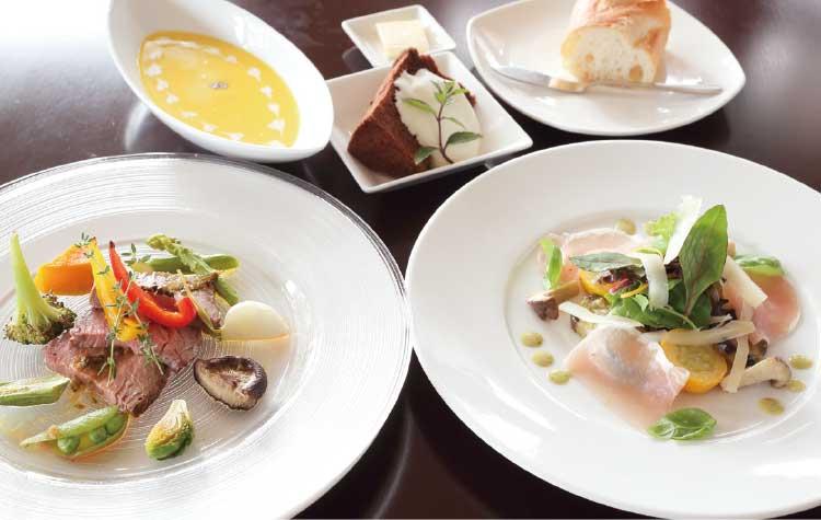 レストラン ル・ヴァンのプチ贅沢な大人ランチ