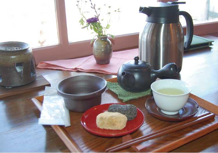 ティーショップ夕日の煎茶セット