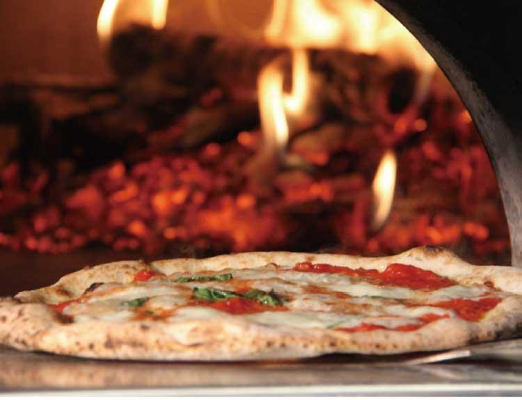 パド・ミュゼのピザ