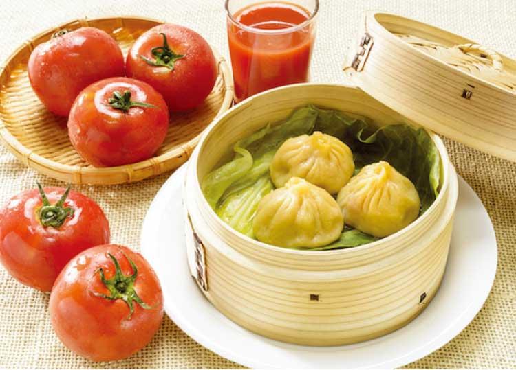 中国料理香港のトマト小籠包