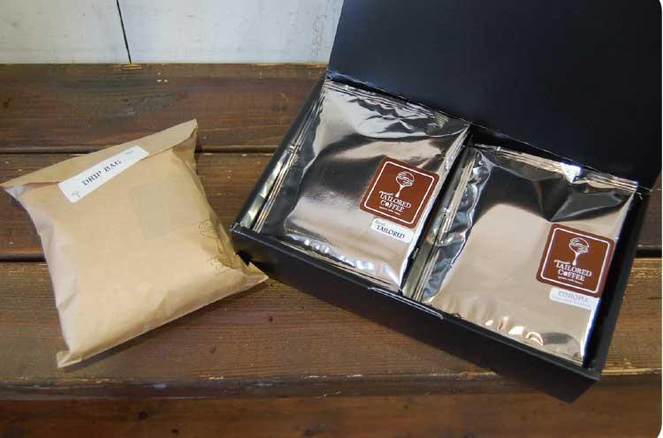 テーラードコーヒーのギフトボックス
