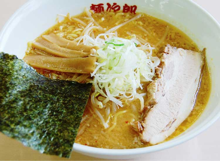 ラーメン専科麺次郎石川店の合わせ味噌ラーメン