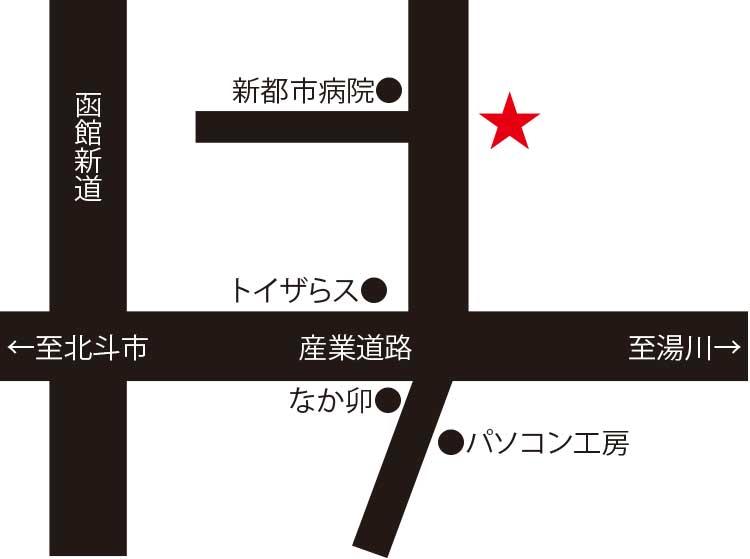 張家口周辺地図