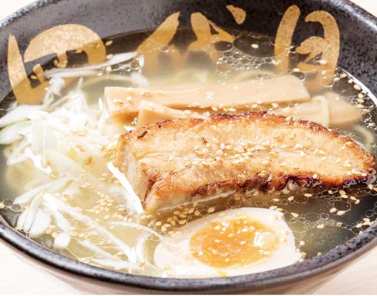 函館麺屋ゆうみん四代目の四代目炙り塩
