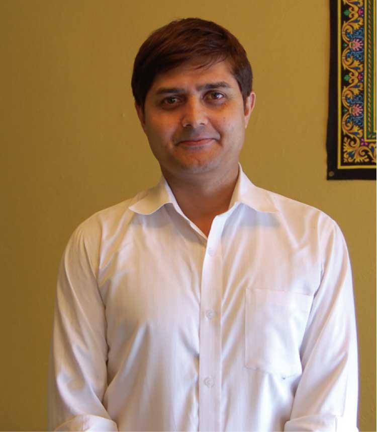 ネパールレストラン・ラーニキッチン代表 ビカス・アディカリさん