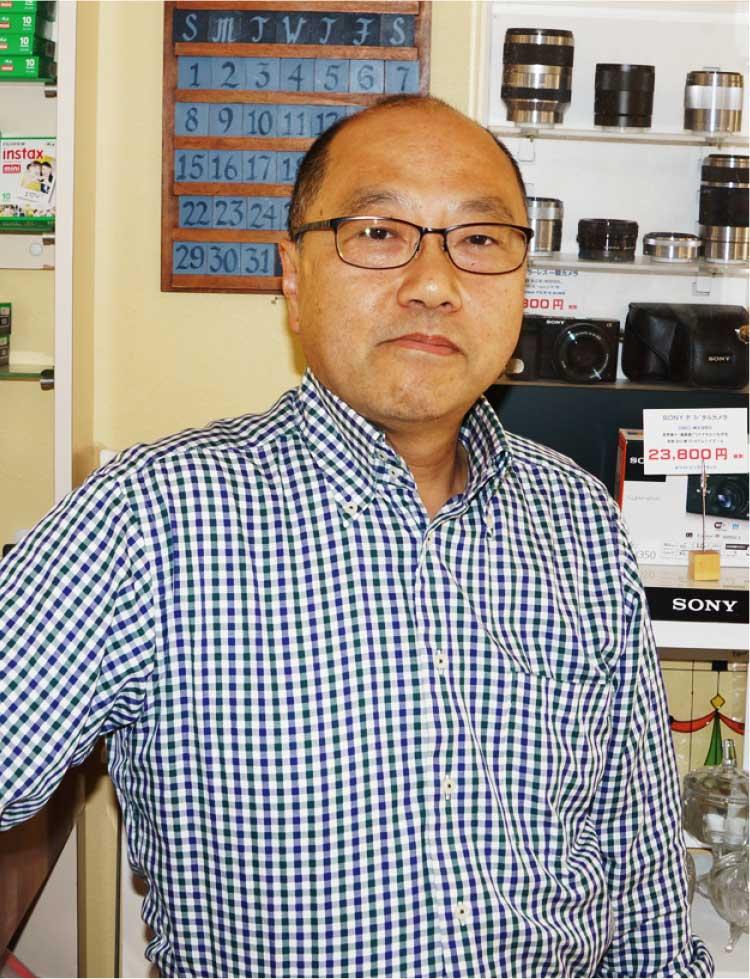 『カメラのカナミ』代表取締役社長 金道雅樹さん