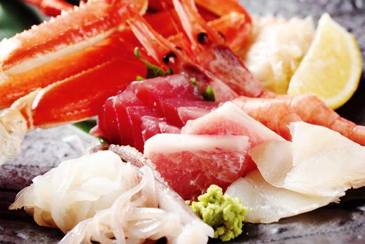 函館湯の川温泉ホテル万惣回線食べ放題ビュッフェ料理