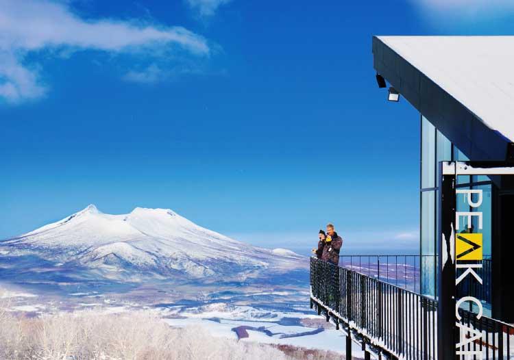 七飯山頂にあるピークカフェ