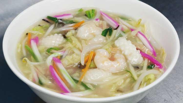 中国料理張家口の冬季限定ちゃんぽん麺