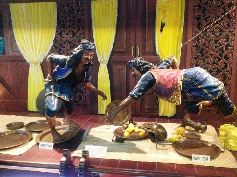 スルタンパレスにある人形