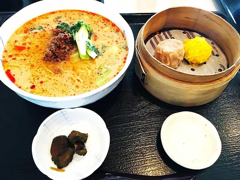 墨花居の担々麺セット