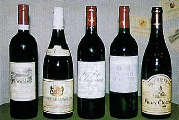 BAR木下酒店のワイン各種