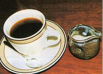 喫茶店ハワイのコーヒー