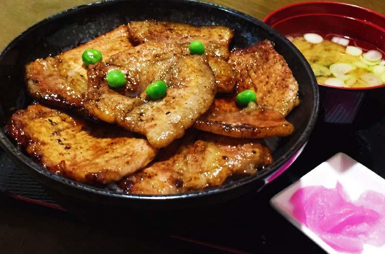 ぶたやの豚丼ロース