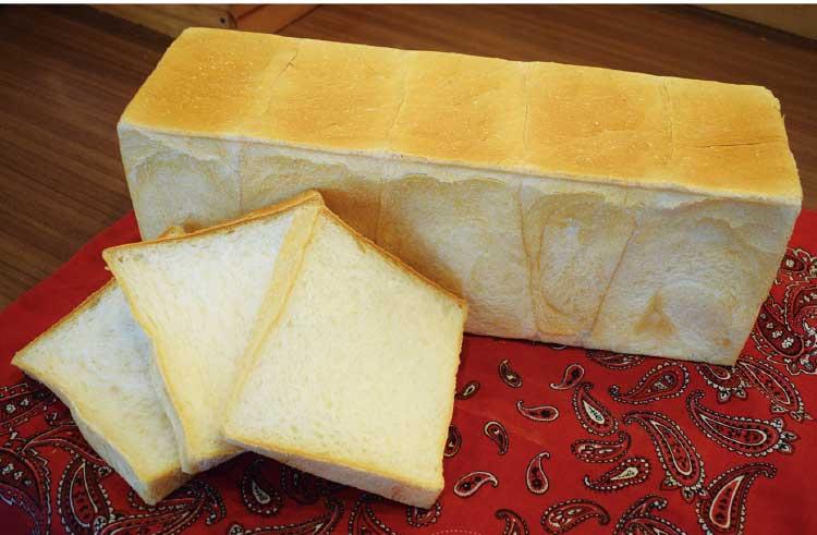 神戸こむぎ館の72時間低温発酵食パン