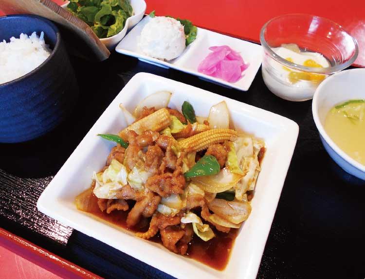 中国料理・香港の「春の青ぽランチ」