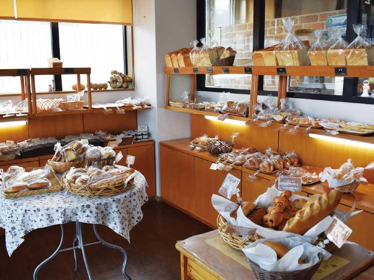 からだに優しいパンの店ハーベスト