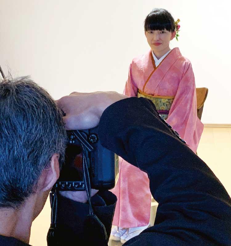 函館の写真展ヴィーナス・オブ・バング