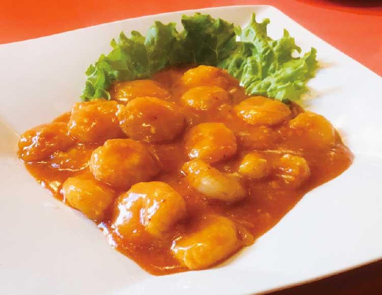 中国料理・香港の小エビのチリソース