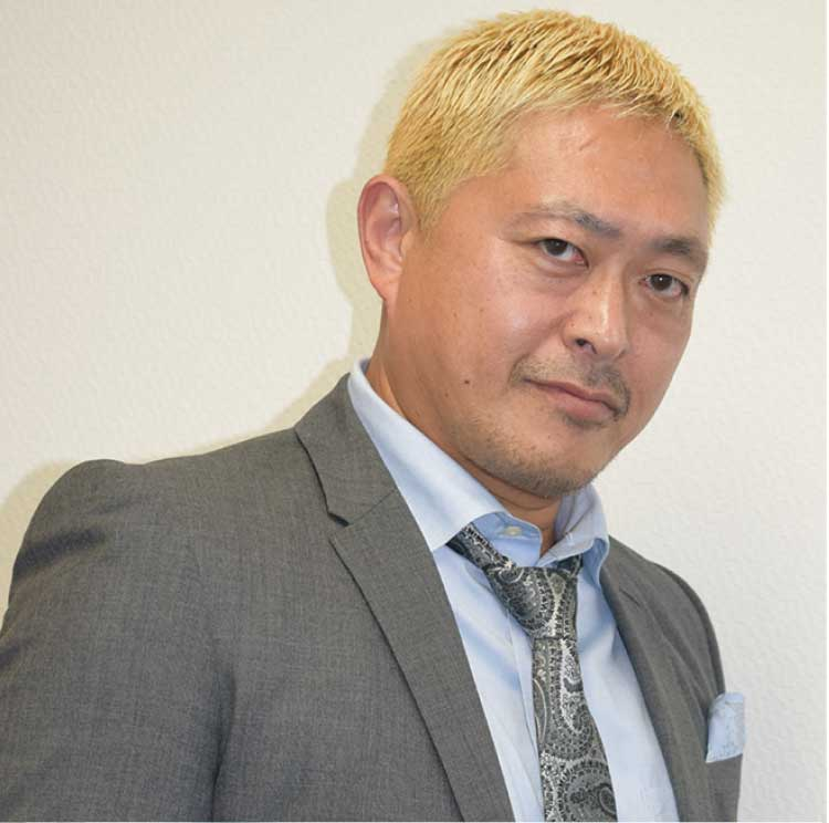 松本人志さんのそっくりさん松本一人さん