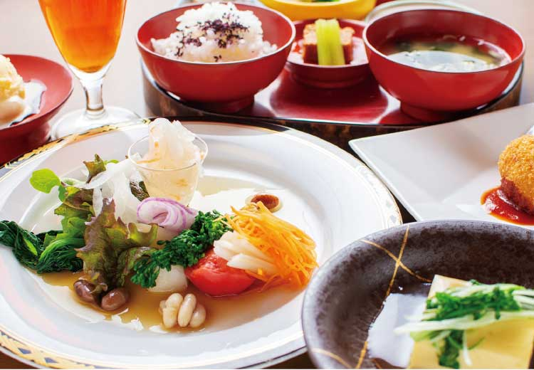 五稜郭・代志川の野菜のコース