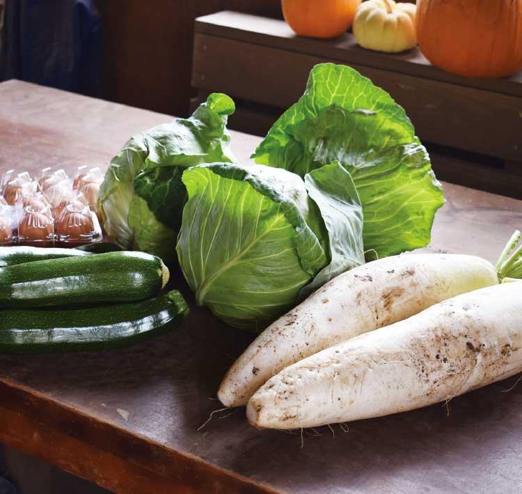 ついき農園の有機栽培野菜
