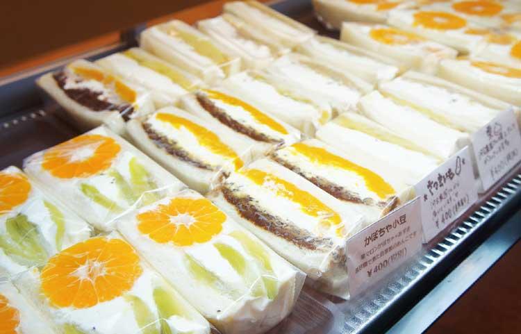 ロクテンハチのフルーツサンドイッチ