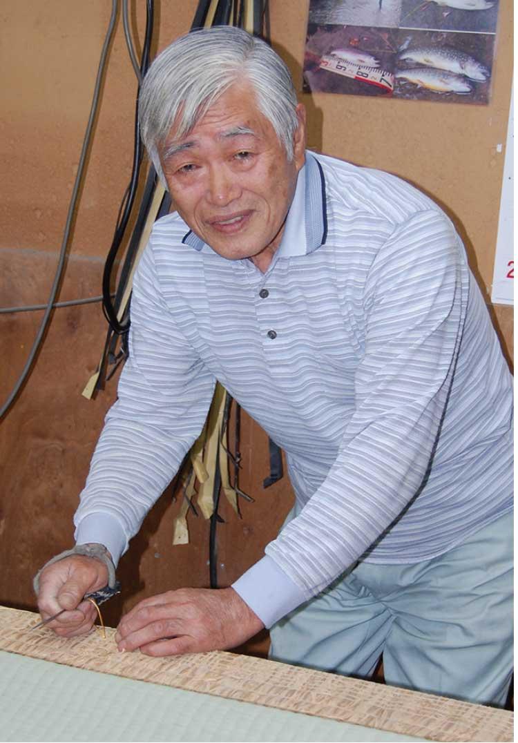 たかはし畳店代表 高橋春吉