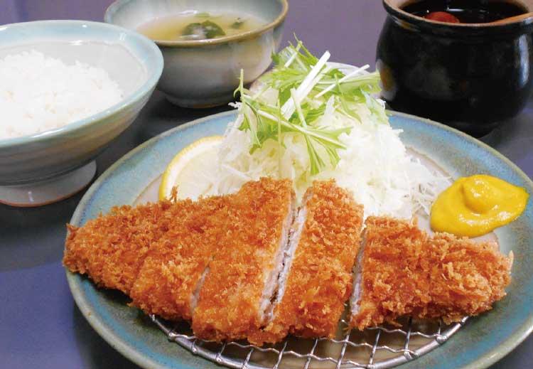 函館とんき大門店のロースかつ定食