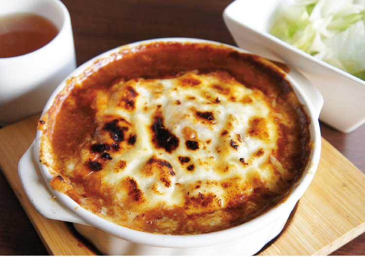 キッチンやまぐちのチーズ焼きカレー