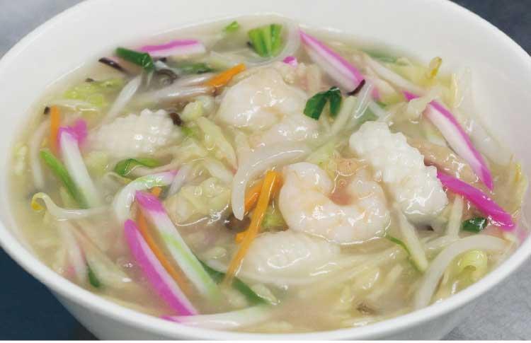 中国料理・張家口のちゃんぽん麺
